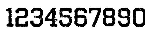 OctinVintageBRg Bold Font, Number Fonts