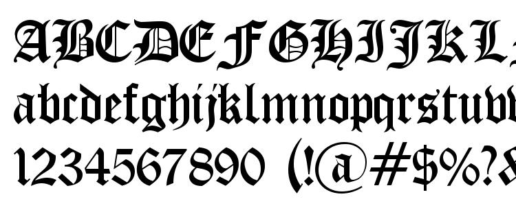 Old English Gothic Font Download Free / LegionFonts