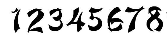 Orient2 normal Font, Number Fonts