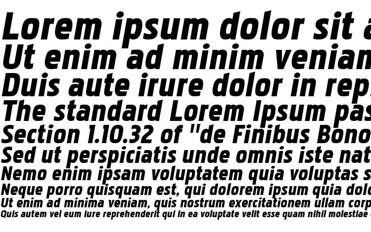 specimens PakenhamBl Italic font, sample PakenhamBl Italic font, an example of writing PakenhamBl Italic font, review PakenhamBl Italic font, preview PakenhamBl Italic font, PakenhamBl Italic font