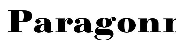 Paragonnordultraboldc Font, OTF Fonts
