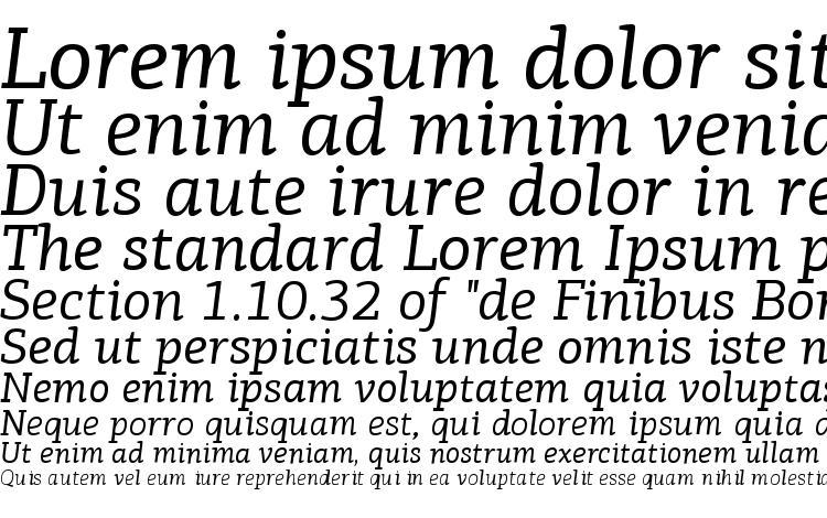 specimens PFAgoraSlabPro Italic font, sample PFAgoraSlabPro Italic font, an example of writing PFAgoraSlabPro Italic font, review PFAgoraSlabPro Italic font, preview PFAgoraSlabPro Italic font, PFAgoraSlabPro Italic font
