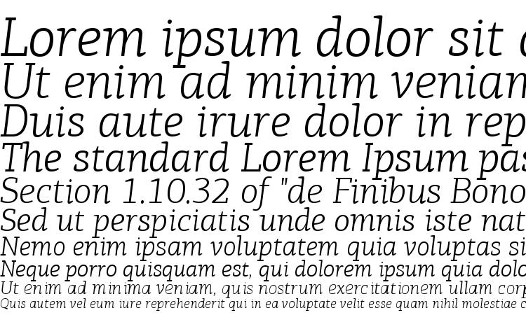 specimens PFAgoraSlabPro LightItalic font, sample PFAgoraSlabPro LightItalic font, an example of writing PFAgoraSlabPro LightItalic font, review PFAgoraSlabPro LightItalic font, preview PFAgoraSlabPro LightItalic font, PFAgoraSlabPro LightItalic font