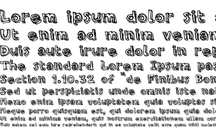 specimens PFAmateur Rough font, sample PFAmateur Rough font, an example of writing PFAmateur Rough font, review PFAmateur Rough font, preview PFAmateur Rough font, PFAmateur Rough font