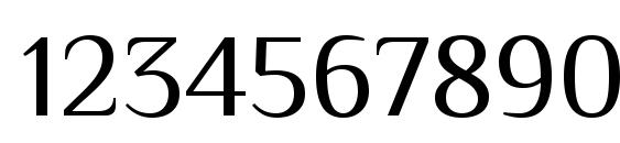 Philosopher Font, Number Fonts