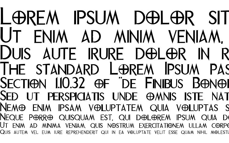 phrixus font