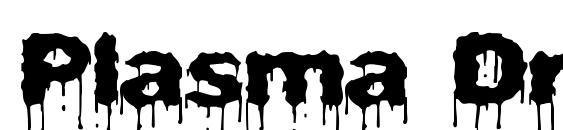 Plasma Drip (BRK) Font, PC Fonts