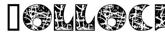Pollock MF Initials Font