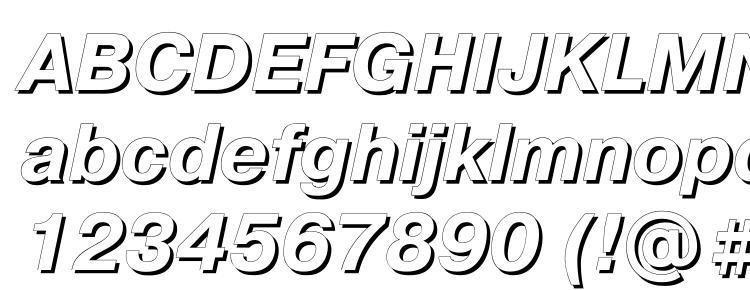 глифы шрифта Pragmaticashadowc italic, символы шрифта Pragmaticashadowc italic, символьная карта шрифта Pragmaticashadowc italic, предварительный просмотр шрифта Pragmaticashadowc italic, алфавит шрифта Pragmaticashadowc italic, шрифт Pragmaticashadowc italic