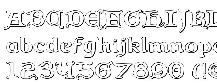 Queen & Country 3D Font Download Free / LegionFonts