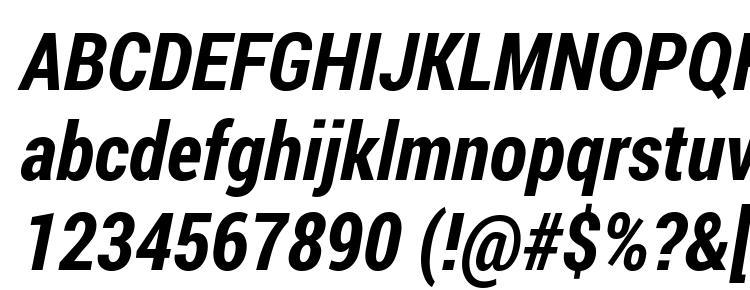 Roboto Condensed Bold Italic Font Download Free / LegionFonts