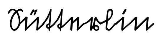 Sütterlin font, free Sütterlin font, preview Sütterlin font
