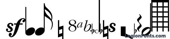 Sax n Violins Light SSi Light Font