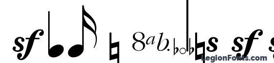 Sax n Violins SSi Font