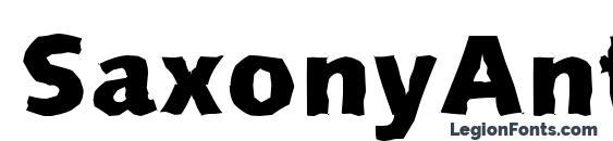 SaxonyAntique Xbold Regular Font