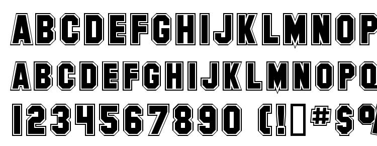SF Collegiate Font Download Free / LegionFonts
