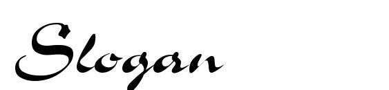Slogan Font