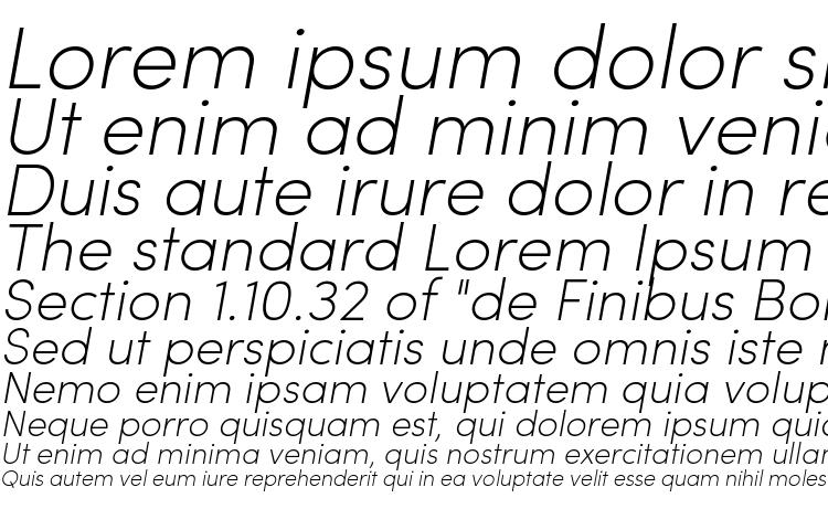 specimens Sofia Pro ExtraLight Italic font, sample Sofia Pro ExtraLight Italic font, an example of writing Sofia Pro ExtraLight Italic font, review Sofia Pro ExtraLight Italic font, preview Sofia Pro ExtraLight Italic font, Sofia Pro ExtraLight Italic font