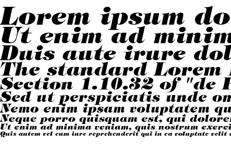 specimens Sophisticate Ultra SSi Black Italic font, sample Sophisticate Ultra SSi Black Italic font, an example of writing Sophisticate Ultra SSi Black Italic font, review Sophisticate Ultra SSi Black Italic font, preview Sophisticate Ultra SSi Black Italic font, Sophisticate Ultra SSi Black Italic font
