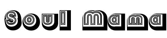 шрифт Soul Mama, бесплатный шрифт Soul Mama, предварительный просмотр шрифта Soul Mama