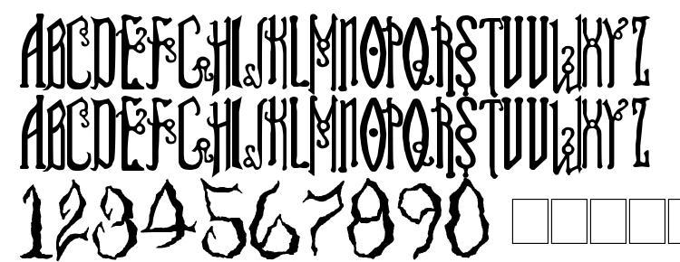 glyphs Soul Reaver font, сharacters Soul Reaver font, symbols Soul Reaver font, character map Soul Reaver font, preview Soul Reaver font, abc Soul Reaver font, Soul Reaver font