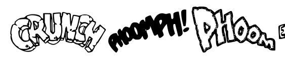 шрифт Sound FX, бесплатный шрифт Sound FX, предварительный просмотр шрифта Sound FX