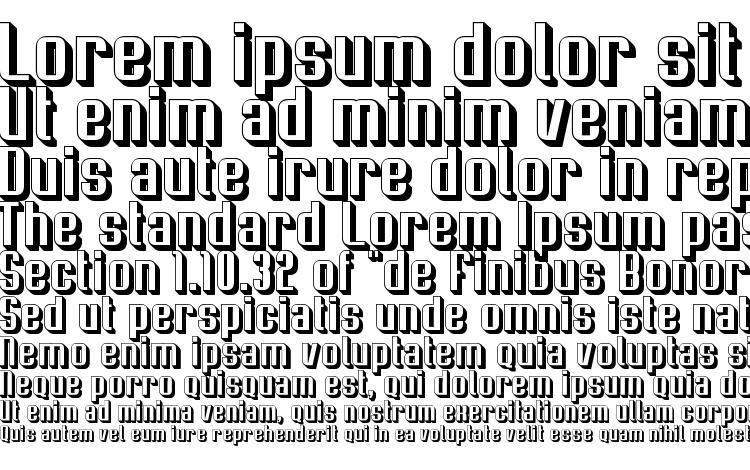 specimens Soupertrouper 3d font, sample Soupertrouper 3d font, an example of writing Soupertrouper 3d font, review Soupertrouper 3d font, preview Soupertrouper 3d font, Soupertrouper 3d font