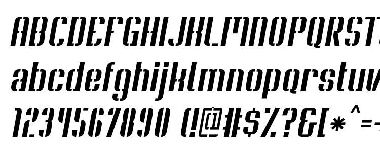 глифы шрифта Soupertrouper stenciloblique, символы шрифта Soupertrouper stenciloblique, символьная карта шрифта Soupertrouper stenciloblique, предварительный просмотр шрифта Soupertrouper stenciloblique, алфавит шрифта Soupertrouper stenciloblique, шрифт Soupertrouper stenciloblique