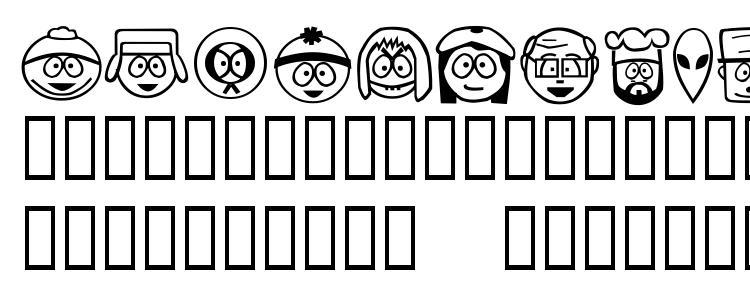 глифы шрифта SouthBats, символы шрифта SouthBats, символьная карта шрифта SouthBats, предварительный просмотр шрифта SouthBats, алфавит шрифта SouthBats, шрифт SouthBats
