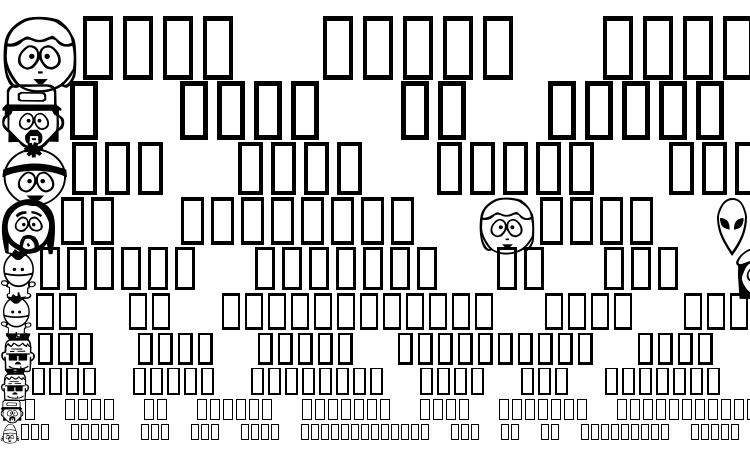 образцы шрифта SouthBats, образец шрифта SouthBats, пример написания шрифта SouthBats, просмотр шрифта SouthBats, предосмотр шрифта SouthBats, шрифт SouthBats
