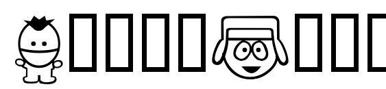 шрифт SouthBats, бесплатный шрифт SouthBats, предварительный просмотр шрифта SouthBats