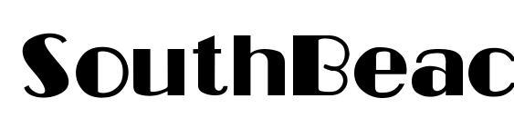 Шрифт SouthBeache