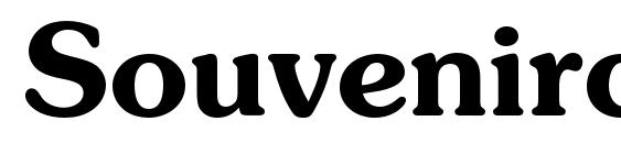 Шрифт Souvenirc bold