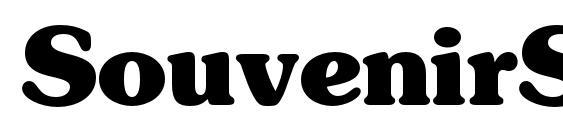 SouvenirStd Bold Font