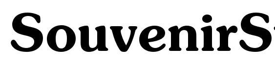 шрифт SouvenirStd Demi, бесплатный шрифт SouvenirStd Demi, предварительный просмотр шрифта SouvenirStd Demi