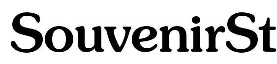 шрифт SouvenirStd Medium, бесплатный шрифт SouvenirStd Medium, предварительный просмотр шрифта SouvenirStd Medium