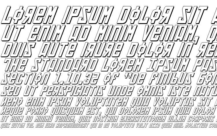specimens Soviet 3D Italic font, sample Soviet 3D Italic font, an example of writing Soviet 3D Italic font, review Soviet 3D Italic font, preview Soviet 3D Italic font, Soviet 3D Italic font