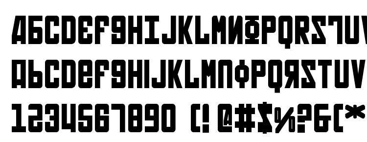 глифы шрифта Soviet Bold, символы шрифта Soviet Bold, символьная карта шрифта Soviet Bold, предварительный просмотр шрифта Soviet Bold, алфавит шрифта Soviet Bold, шрифт Soviet Bold