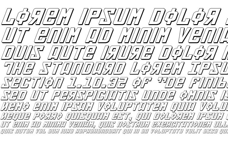 specimens Soviet ExpItal 3D font, sample Soviet ExpItal 3D font, an example of writing Soviet ExpItal 3D font, review Soviet ExpItal 3D font, preview Soviet ExpItal 3D font, Soviet ExpItal 3D font