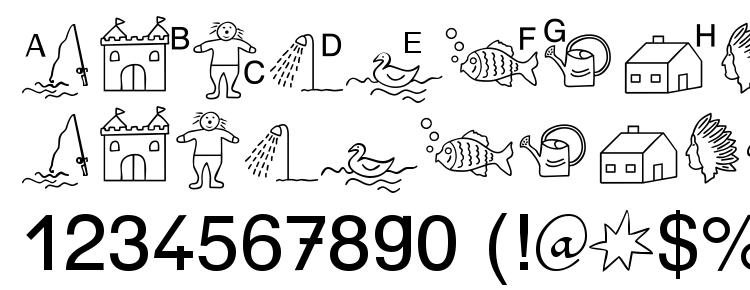 глифы шрифта SP Anlaut5 DB, символы шрифта SP Anlaut5 DB, символьная карта шрифта SP Anlaut5 DB, предварительный просмотр шрифта SP Anlaut5 DB, алфавит шрифта SP Anlaut5 DB, шрифт SP Anlaut5 DB