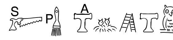 SP Anlaut6 DB Font