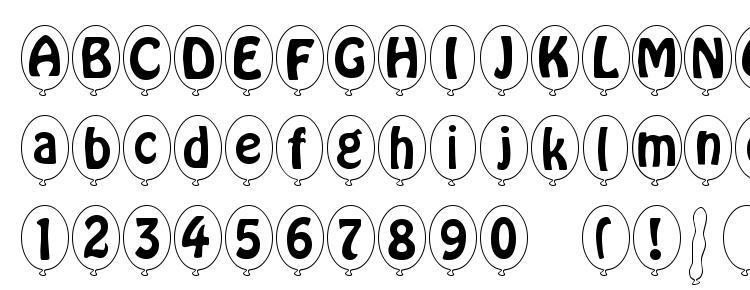 глифы шрифта SP Ballon Italic DB, символы шрифта SP Ballon Italic DB, символьная карта шрифта SP Ballon Italic DB, предварительный просмотр шрифта SP Ballon Italic DB, алфавит шрифта SP Ballon Italic DB, шрифт SP Ballon Italic DB