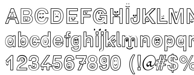 glyphs SP Face DB font, сharacters SP Face DB font, symbols SP Face DB font, character map SP Face DB font, preview SP Face DB font, abc SP Face DB font, SP Face DB font