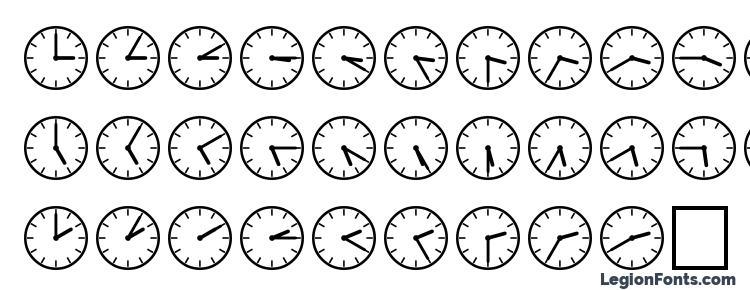 глифы шрифта SP Uhr2 DB, символы шрифта SP Uhr2 DB, символьная карта шрифта SP Uhr2 DB, предварительный просмотр шрифта SP Uhr2 DB, алфавит шрифта SP Uhr2 DB, шрифт SP Uhr2 DB