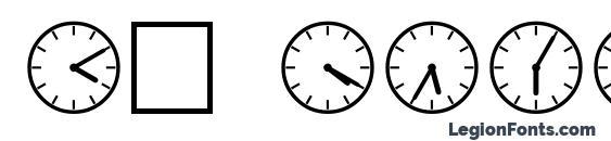 шрифт SP Uhr2 DB, бесплатный шрифт SP Uhr2 DB, предварительный просмотр шрифта SP Uhr2 DB