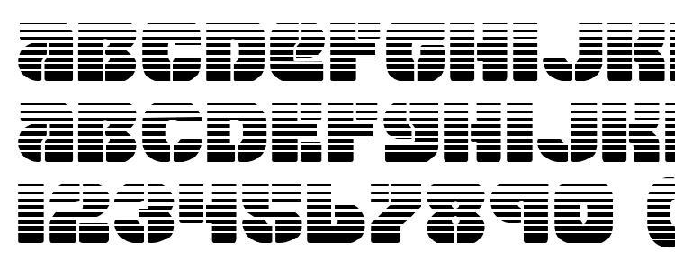 глифы шрифта Space Cruiser Gradient, символы шрифта Space Cruiser Gradient, символьная карта шрифта Space Cruiser Gradient, предварительный просмотр шрифта Space Cruiser Gradient, алфавит шрифта Space Cruiser Gradient, шрифт Space Cruiser Gradient