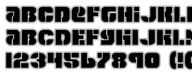 glyphs Space Cruiser Pro font, сharacters Space Cruiser Pro font, symbols Space Cruiser Pro font, character map Space Cruiser Pro font, preview Space Cruiser Pro font, abc Space Cruiser Pro font, Space Cruiser Pro font