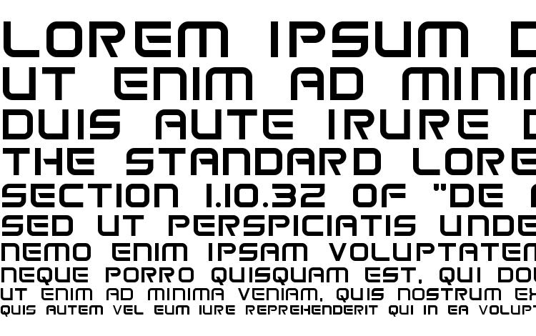 specimens Space frigate font, sample Space frigate font, an example of writing Space frigate font, review Space frigate font, preview Space frigate font, Space frigate font