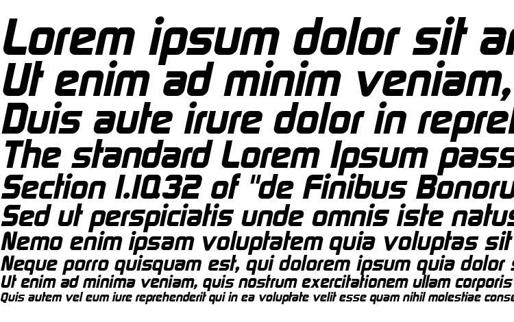 образцы шрифта Space gothic italic, образец шрифта Space gothic italic, пример написания шрифта Space gothic italic, просмотр шрифта Space gothic italic, предосмотр шрифта Space gothic italic, шрифт Space gothic italic