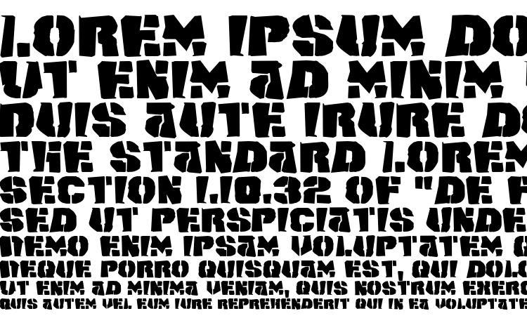 specimens Space Junker font, sample Space Junker font, an example of writing Space Junker font, review Space Junker font, preview Space Junker font, Space Junker font